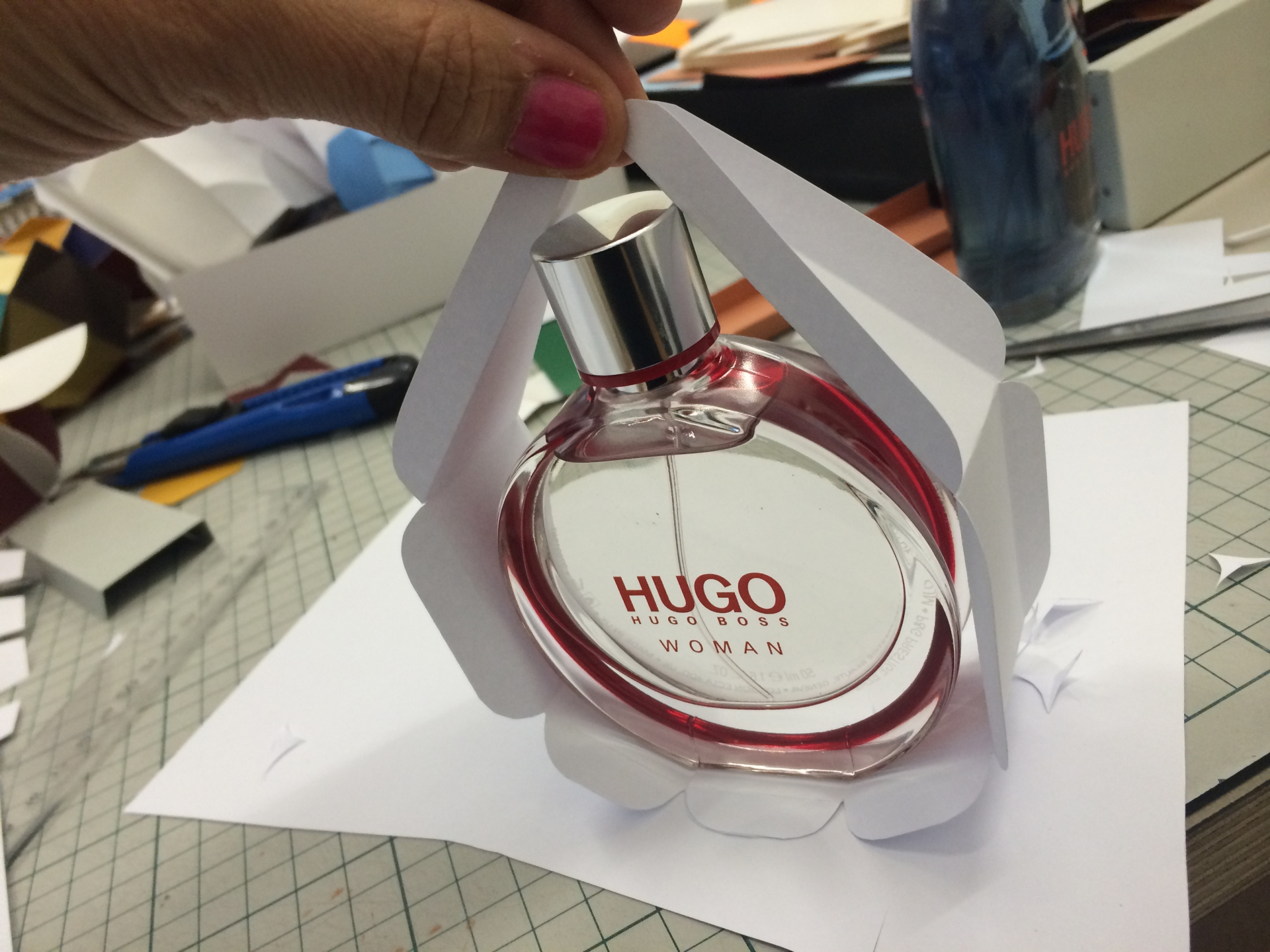 C.v.Z. PARFUME PACKAGING / HUGO BOSS
