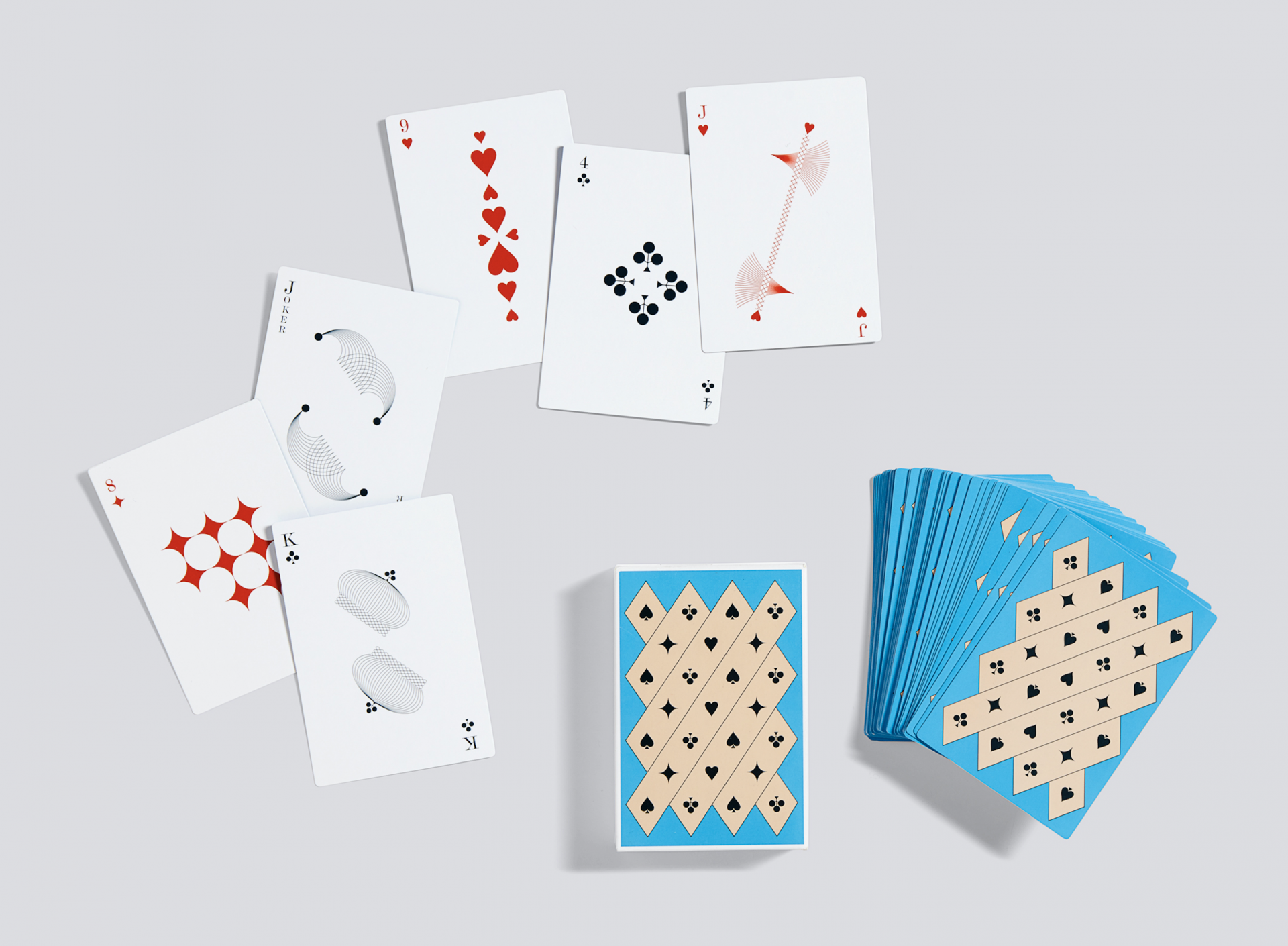 C.v.Z. PLAYING CARDS / HAY