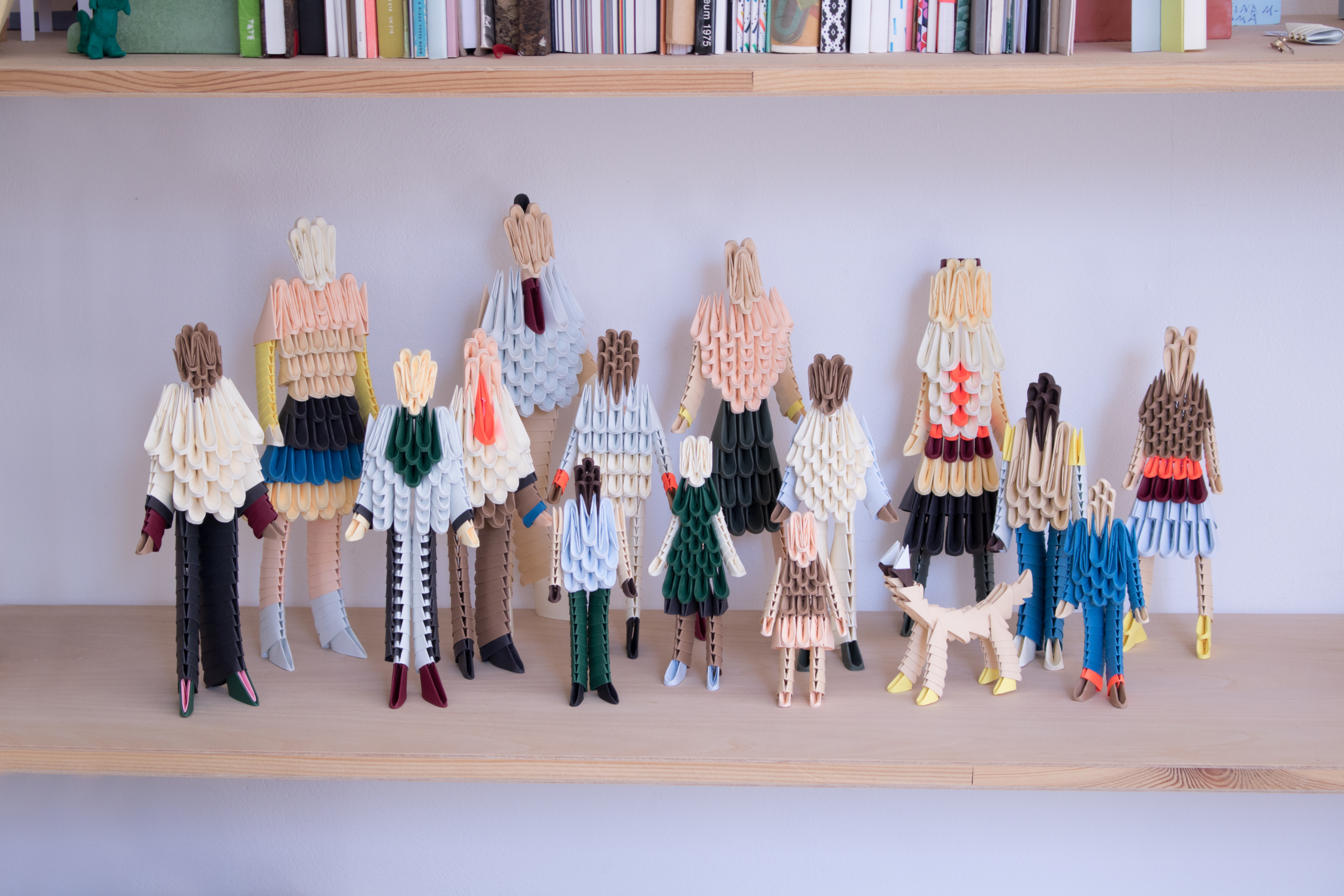 THE ORIGAMI FAMILY / Limited Edition for HAY